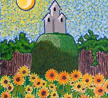 The Sunflower Garden  by Steve St-Amour