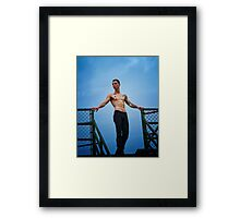 Nothing but Blue Skies Framed Print