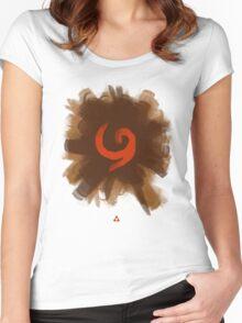 Deku Women's Fitted Scoop T-Shirt