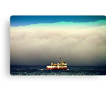 San Francisco Fog Canvas Print