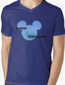 Wedway Peoplemover Mens V-Neck T-Shirt