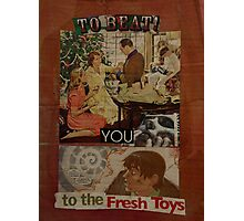 to beat you to the fresh toys Photographic Print