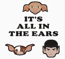 Bad ass ear club by GeekCupcake