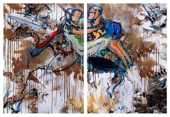 Action Abstraction No. 15 by David Leblanc