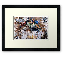 Action Abstraction No. 15 Framed Print