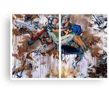 Action Abstraction No. 15 Canvas Print