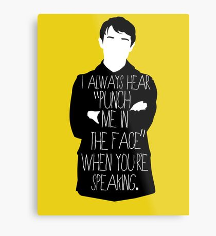 Usually it's subtext.  Metal Print
