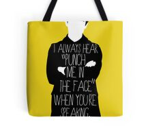 Usually it's subtext.  Tote Bag