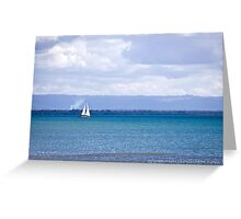 Sailing on the Sea Greeting Card
