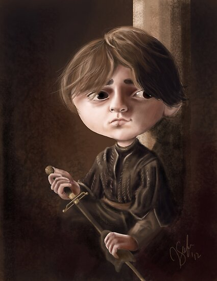 Arya Stark by JenSnow