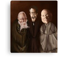 The Small Council Canvas Print