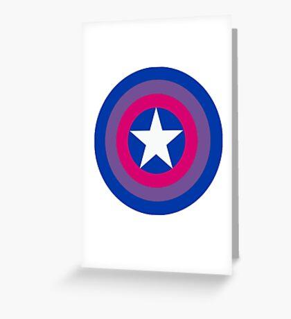 Captain Bisexual Greeting Card