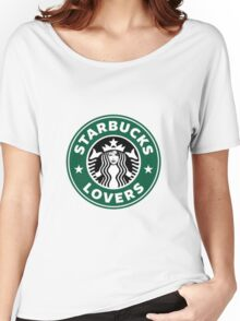 Starbucks Lovers Logo Women's Relaxed Fit T-Shirt
