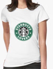 Starbucks Lovers Logo Womens Fitted T-Shirt