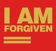 I AM FORGIVEN (ROYAL YELLOW) T-Shirt