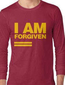 I AM FORGIVEN (ROYAL YELLOW) Long Sleeve T-Shirt