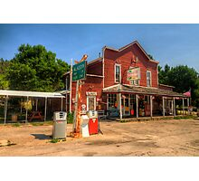 The Country Store - Aladdin, Wyoming Pop. 15 Photographic Print
