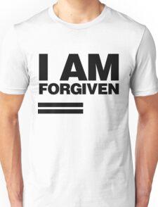 I AM FORGIVEN (BLACK) Unisex T-Shirt