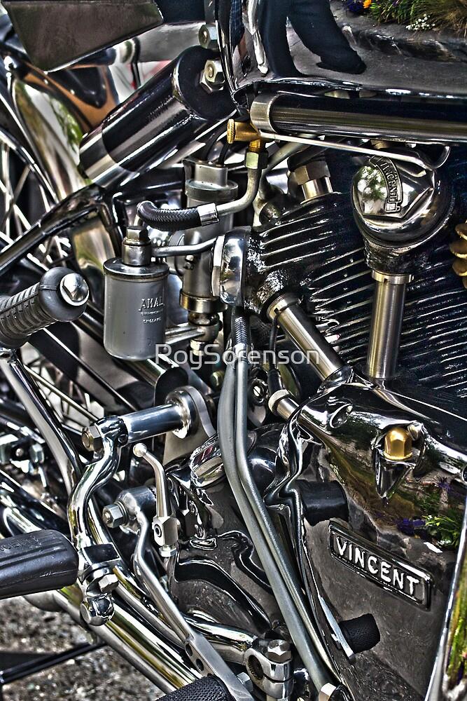 Vincent Motor by RoySorenson