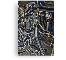 Vincent Motor Canvas Print