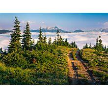 Sunrise from Johnson Ridge Photographic Print