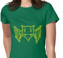 Percentum Batwings (yellow) Womens Fitted T-Shirt