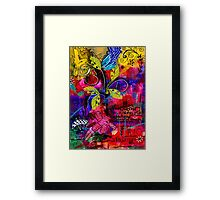Imagined Bliss Framed Print