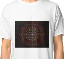 """Meta-Flower of Life³"" Classic T-Shirt"