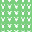 Bunnies In Grass Case by Jenifer Jenkins