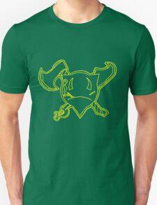 Percentum Pirate (yellow) Unisex T-Shirt