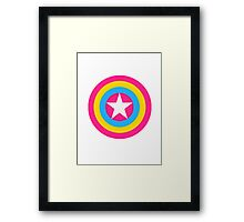Captain Pansexual Framed Print
