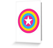 Captain Pansexual Greeting Card