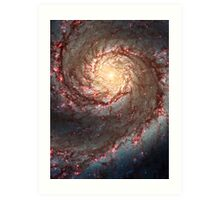 Whirlpool Galaxy Art Print