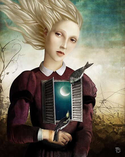 The Night is calm by ChristianSchloe