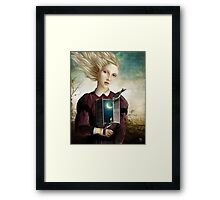 The Night is calm Framed Print