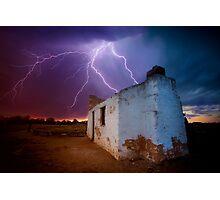 West Australian summer storms Photographic Print