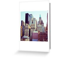 Downtown Architecture  Greeting Card