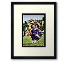 Joyful Dancer Framed Print
