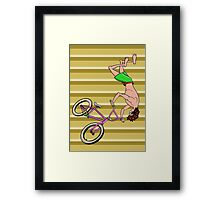 BMX Air Time Trick Framed Print