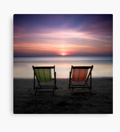 Go vacation Canvas Print