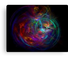 color meditation Canvas Print
