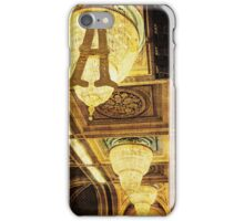 Grungy Melbourne Australia Alphabet Letter A Assembly Chamber Parliament Building iPhone Case/Skin