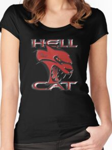 Hellcat Growl Women's Fitted Scoop T-Shirt