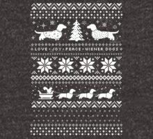 Dachshunds Christmas Sweater Pattern by Jenn Inashvili