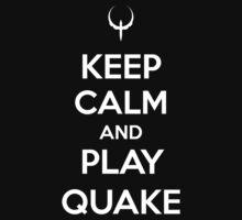 Keep Calm and play Quake Kids Clothes
