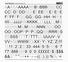 Letraset - Black One Piece - Long Sleeve