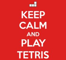 Keep Calm and play Tetris Kids Clothes