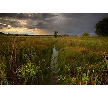 Wet Center Photographic Print