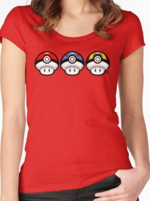 Pokéshrooms Women's Fitted Scoop T-Shirt