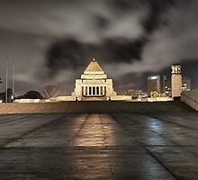 Shrine of Remembrance by Shari Mattox
